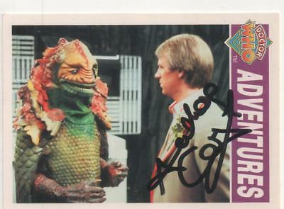 """Dr Who Cornerstone Card No.39 Auto by Anthony Calf """"Charles"""""""