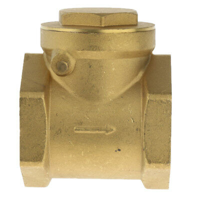 DN40 One Way Swing Check Valve, Female Thread, Brass Material, 1.5 Inch