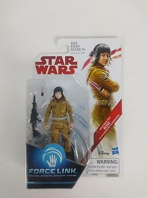 Star Wars the Last Jedi - Rose Resistance Tech - Force Link  3.75 Inch New