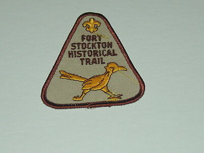 trail patch - Fort Stockton Historical Trail