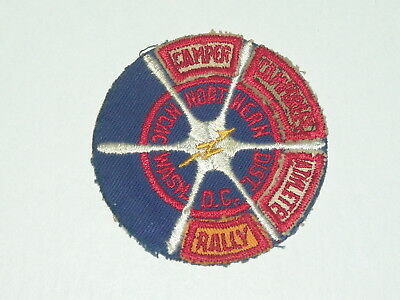 NCAC Wash D.C. Northern Dist patch with 4 segments