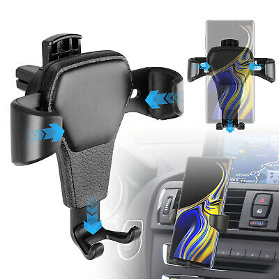 Universal Gravity Car Air Vent Mount Holder Cradle Stand For Mobile Cell Phone