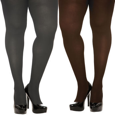 012ef971a Torrid Plus Size Gray   Brown Spandex Opaque Tights 1X 2X Or 3X 4X