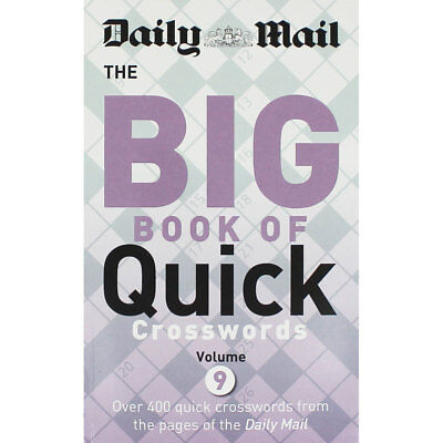 Daily Mail - The Big Book of Quick Crosswords 9, Non Fiction Books, Brand New
