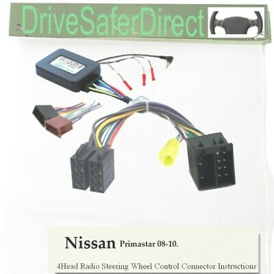 SWC-6853-12J Steering Control,ISO-JOIN for Chinese Radio/Nissan Primastar 08-10
