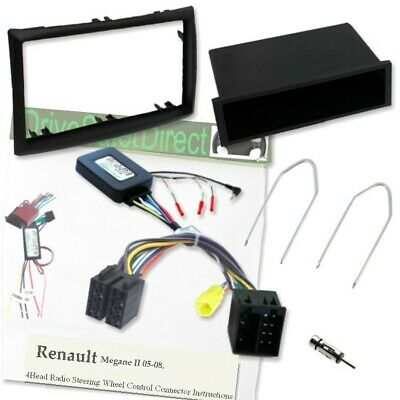 SWC-6853-dL Steering control,Facia,LEARNING Kit for Xtrons/Renault Megane 05-08