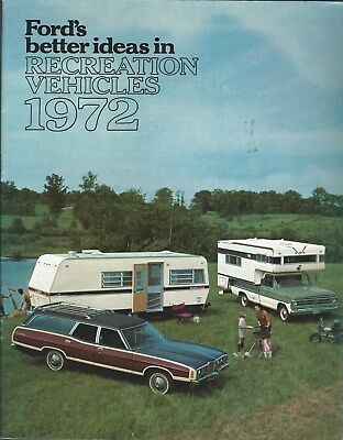 Truck Auto Brochure - Ford - Recreation Vehicles - 1972 - Towing (T2480)