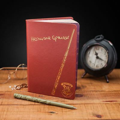 Official Hermione Notebook & Wand Pen