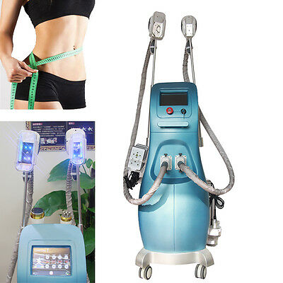 Professional Cold Vacuum Fat Freezing Therapy Slimming Cellulite Removal Device