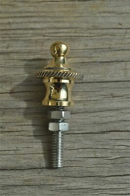Superb quality antique brass furniture clock finial rope edge finial Z11