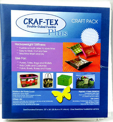 Craftex 3510-03 | Polyester Double-Sided Fusible Heavy Stiffness 50.8x91.4cm