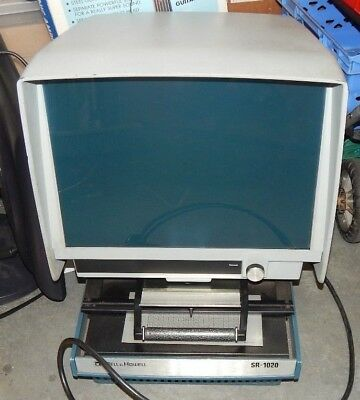 Bell And Howell Microfiche Reader Spares Or Repair