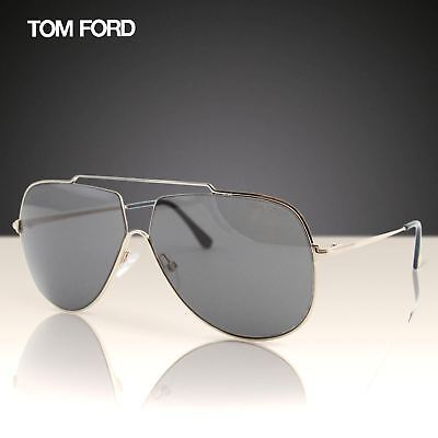 c3024344eb2321 2018 Tom Ford Chase-02 TF-586 Hommes Métal or Double Pont Pilote Lunettes