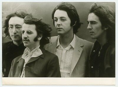 The Beatles 1970s/1980s Electrola Records German Promotional Photograph