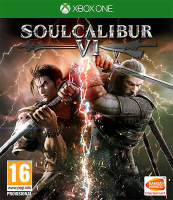 Soul Calibur VI (Xbox One)  BRAND NEW AND SEALED - IN STOCK - QUICK DISPATCH