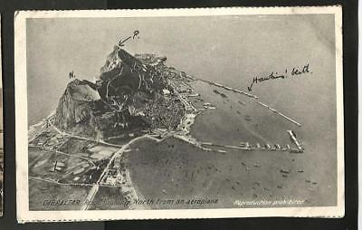 JRB Early (Pre WWI?) Cumbo Aerial Postcard, South Mole, Gibraltar