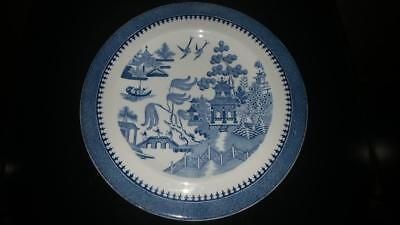 Lovely Art Deco Period Minton Willow Pattern Plate  C 1920