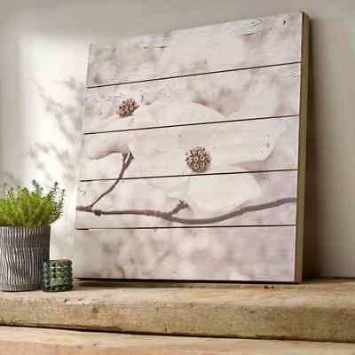 Serenity Blossoms Wood Wall Art