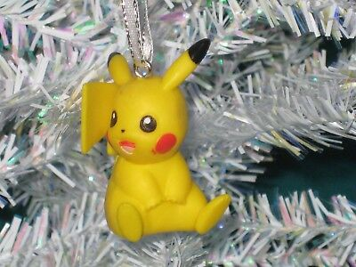 Pikachu Christmas Ornament.Pikachu Christmas Ornament Pokemon Figure 3