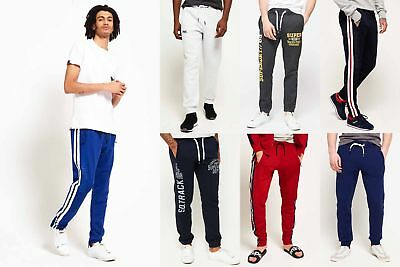 New Mens Superdry Joggers Selection - Various Styles & Colours 231018