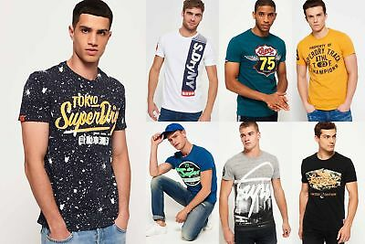 New Mens Superdry Tshirts Selection - Various Styles & Colours 2310