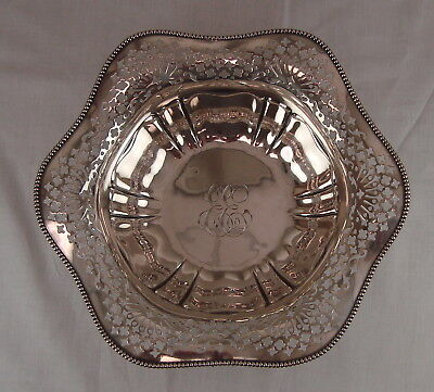 R. Wallace & Sons Sterling Silver Bowl 8.94 oz
