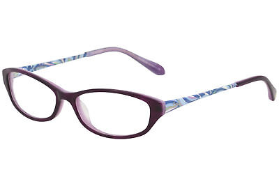 707c83f4a63 Lilly Pulitzer Women s Eyeglasses Avaline PL Purple Full Rim Optical Frame  53mm