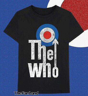 Details about  /The Who-My Generation-Medium Black T-shirt
