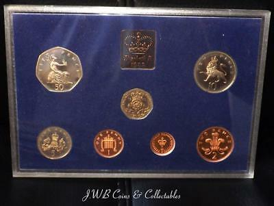 1982 Royal Mint Great Britain Proof Coin Set - No Cardboard Case