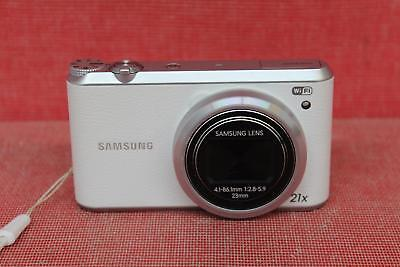 Samsung (WB350F) 16.3 MP, Wi-Fi, White, Digital, Point And Shoot, Smart Camera