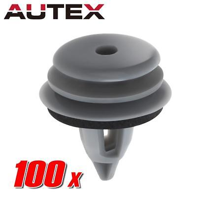 100x Door Lateral Trim Panel Grey Clip for BMW 325i 330i 525i 530i M3 M5 X5 X6