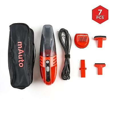 12v Car Vacuum Cleaner Portable Wet Dry Dirt Dust For Cars, Trucks & SUVs