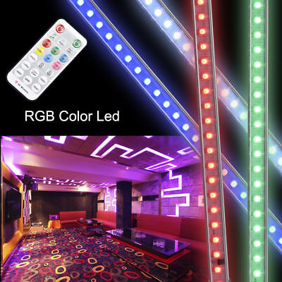10W 36 LED Sound/Active RGB Wall Washer Light USB Remote Pub DJ Disco Party Lamp