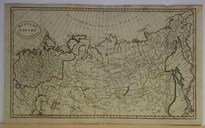 Russian Empire 1815 Anonymous Antique Original Copper Engraved Map