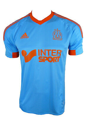 Adidas Olympique Marseille Jersey Blue GR.S NEW