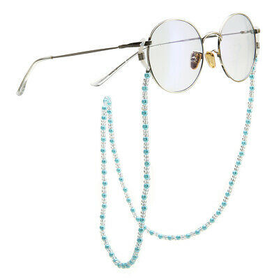 Glasses Sunglasses Spectacle Beads Chain Strap Cord Holder Neck Lanyard