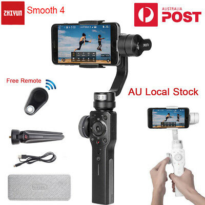 Zhiyun Smooth 4 3-Axis Handheld Gimbal Stabilizer for Smartphone XS 8 6S Android