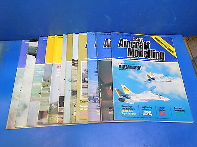 Scale Aircraft Modelling Magazine 1978 - 1991 - Select From Back Issues
