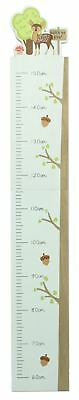 Woodland Forest Animal Bedroom Nursery Measuring Growth Height Chart