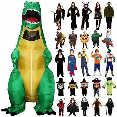 Halloween Fancy Dress Costume Outfit Party Scary Adult Childrens Kids Clearance