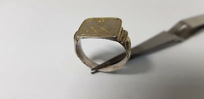 Late Medieval Silver Christian Ring