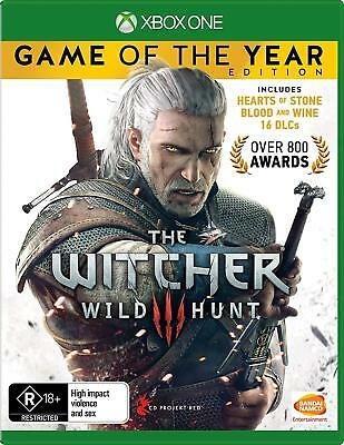 The Witcher 3 Game Of the Year Edition - Xbox One Game Brand New Seal