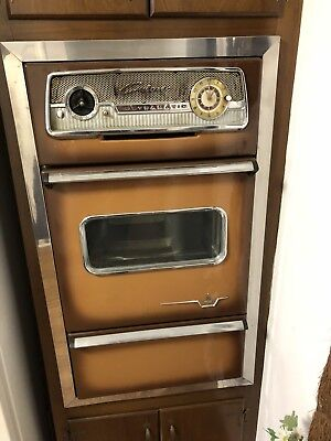 Vintage Caloric Wall Oven 1950 1960 Reclaimed Antique Gas