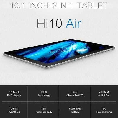 "10.1"" CHUWI Hi10 Air Tablet PC Quad Core Windows10 4GB+64GB WIFI Dual Camera"