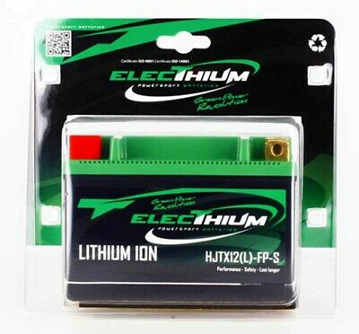 Lithium Batterie ELECTHIUM YTX12-BS Lithium-Ion LiFePO