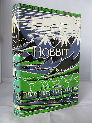 The Hobbit or There and Back Again by J R R Tolkien - Col Plts HB DJ 1982