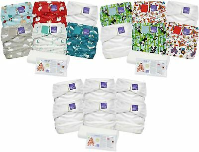 Bambino Mio MIO SOLO NAPPY KIT WITH LINERS & CLEANSER Diapers Baby/Toddler BN