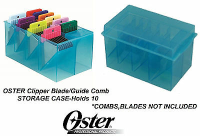 OSTER ATTACHMENT GUIDE COMB& CLIPPER BLADE STORAGE CASE Tote*Also for Wahl,Andis
