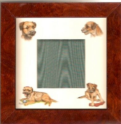 Border Terrier Frame Art by Bryn Parry LAST ONE!