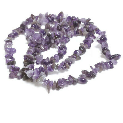 Amethyst Chip Beads 5-8mm Purple 240+ Pcs Handcut Gemstones DIY Jewellery Making
